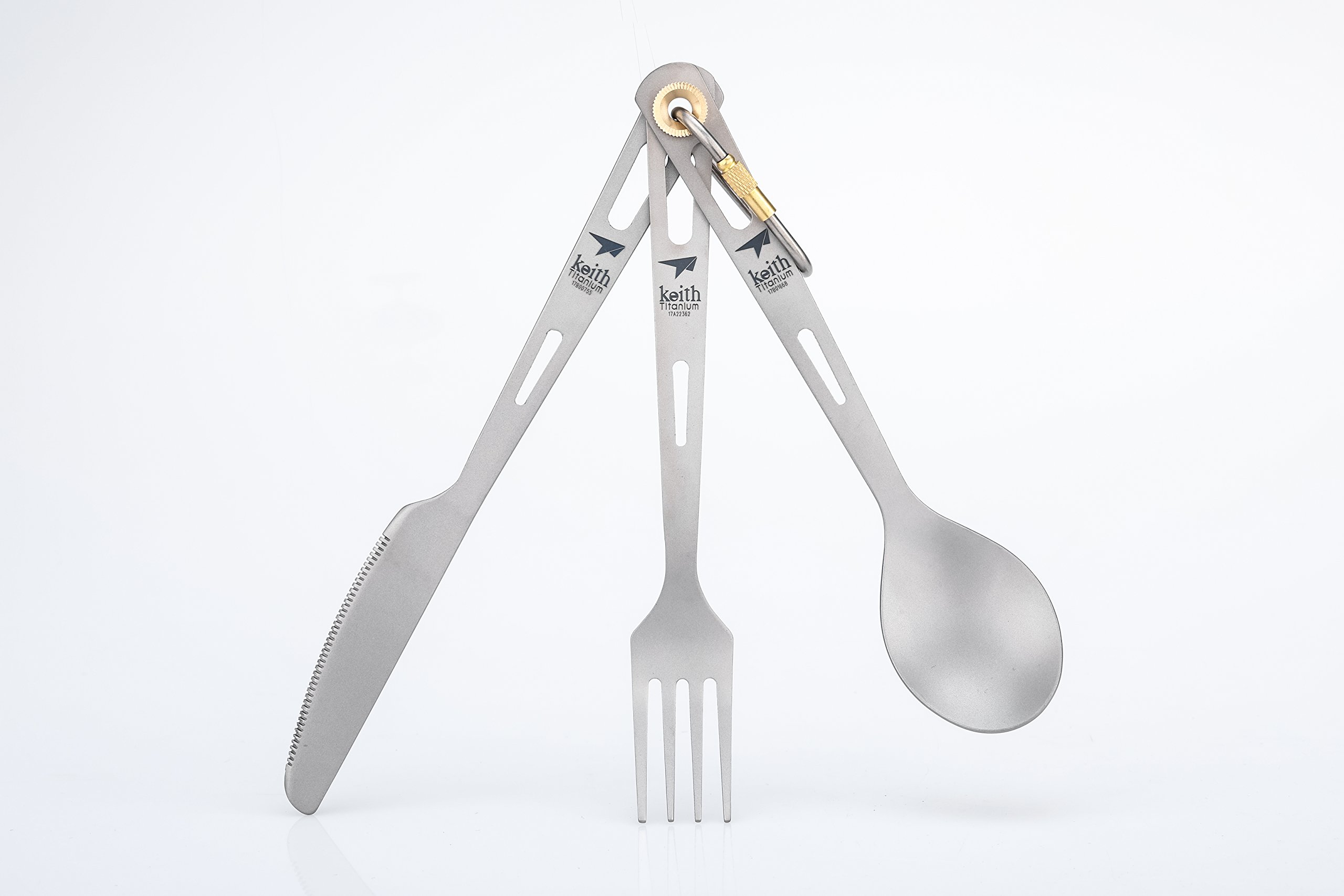 Keith Titanium Ti5310 3-Piece Cutlery Set by Keith Titanium (Image #1)