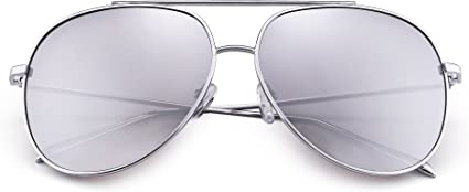 JIM HALO Gafas de Sol Aviador Lente Gradiente Marco de Aleación Anteojos Para Hombre Mujer