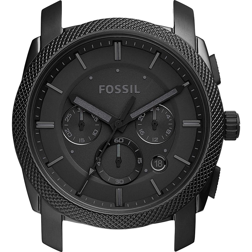 Fossil Men's C221023 Machine Chronograph Black Stainless Steel 22mm Case