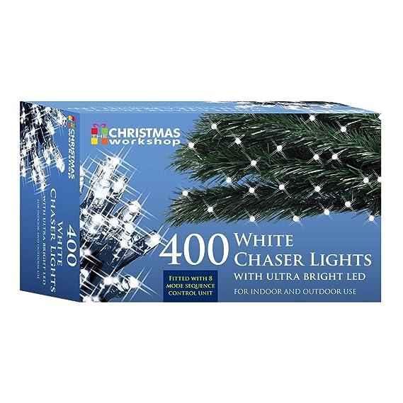 76120 Christmas Workshop Benross 400 LED Chaser String Lights Bright ...