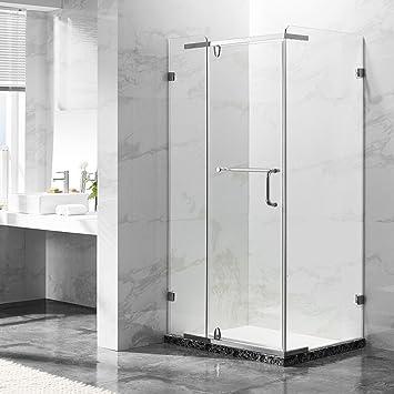 deluxes 192201 cabinas de ducha 100 x 80 x 195 cm, para esquina de ducha, 8