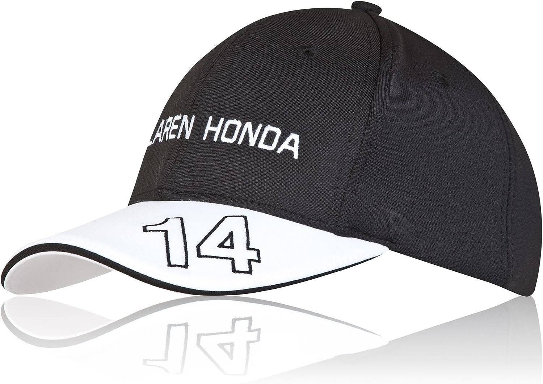 McLaren Honda - Gorra oficial de Fernando Alonso: Amazon.es ...