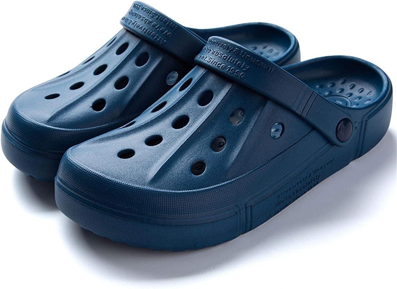 XIANV Men Women Clogs Garden Shoes Mesh Slippers Sandals Lightweight Slip On Mules Outdoor Walking Slippers Unisex Summer Beach Shoes
