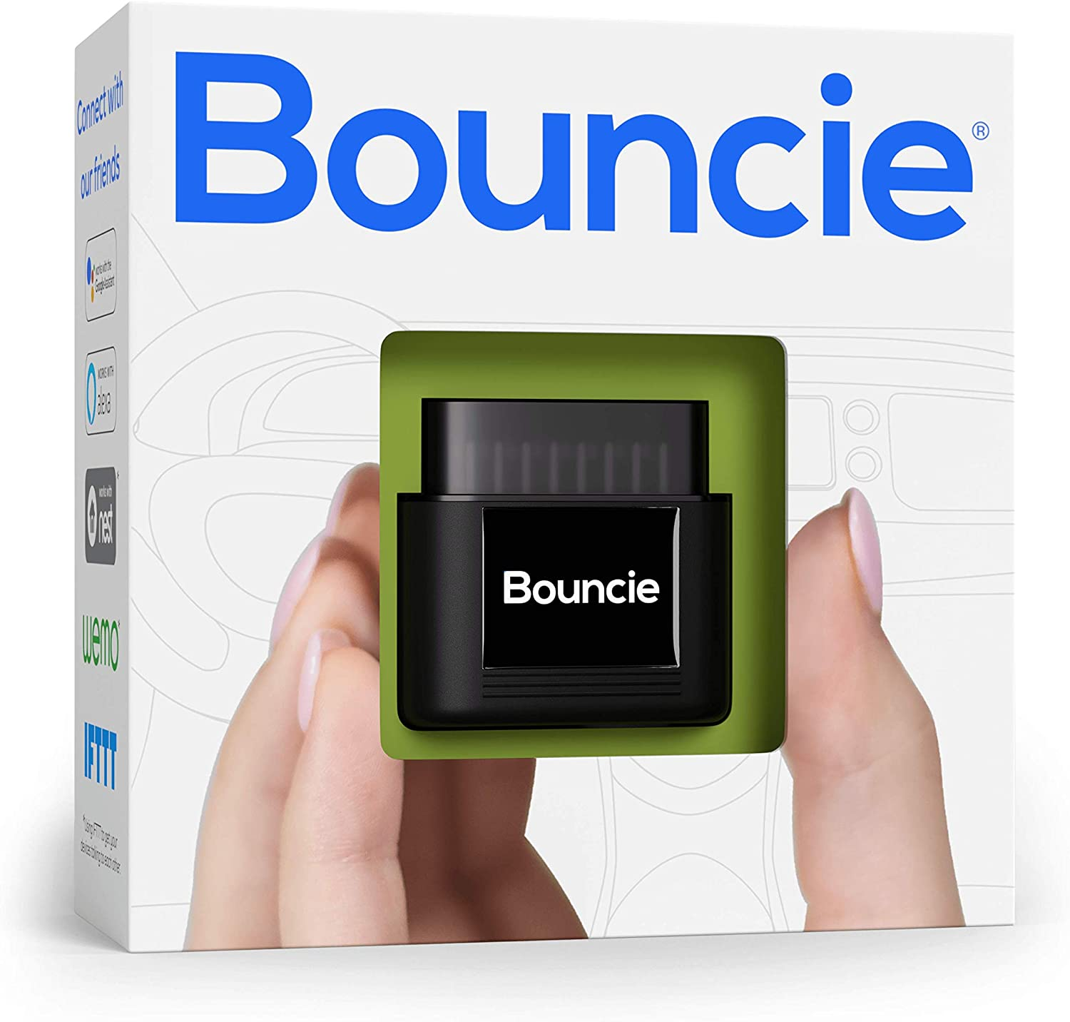 bouncie - Connected Car - 15 Second Updates - Location Tracking, Driving Habits, Alerts, Geo-Fence, Diagnostics - OBD2 Adapter - Family or Fleets - ...