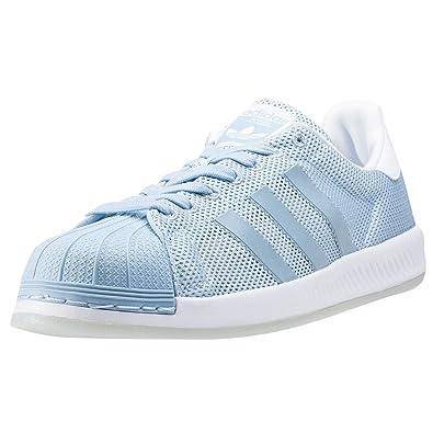 adidas Superstar Bounce Hommes Baskets Pastel Blue - 11 UK