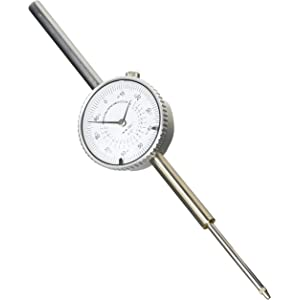 AB Tools-Toolzone Extra Long Dial Test Indicator DTI Clock Guage Measuring Precision Plunge Probe