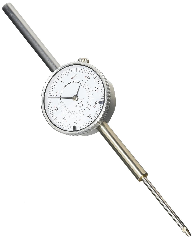 0-2 inch Range Imperial Dial Indicator Gauge SRA Measurement ME-IM-GAU-2