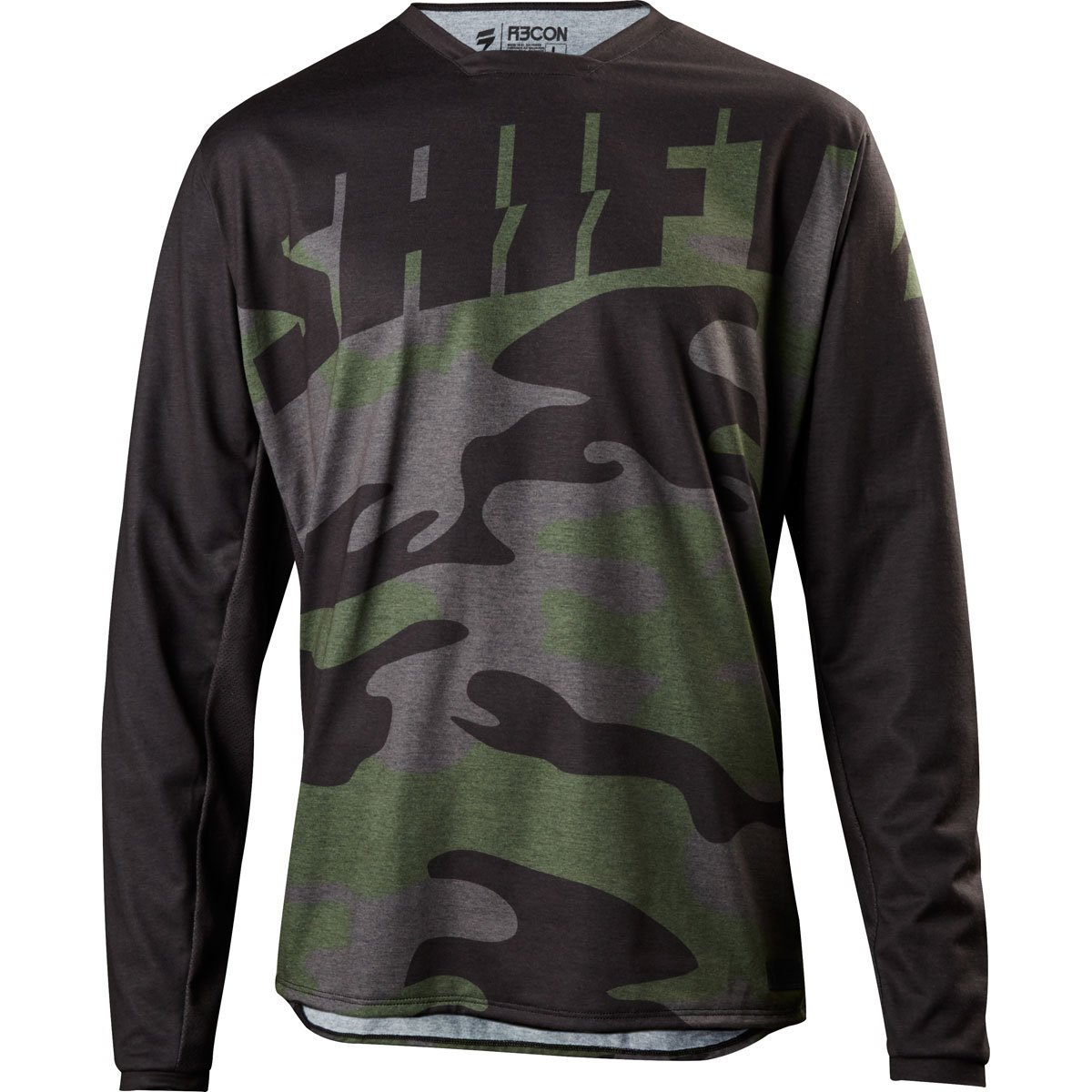 Shift 2018 Recon Drift Camo Jersey-Fat Camo-L