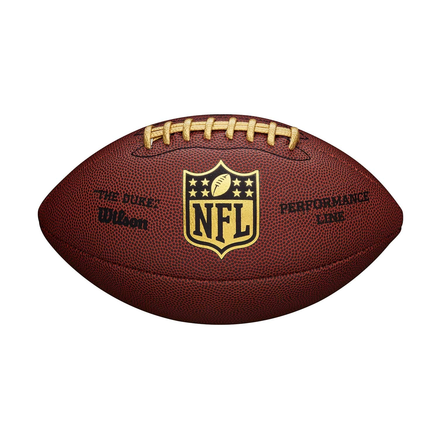 WILSON NFL Replica Game Ball The Duke Performance Line