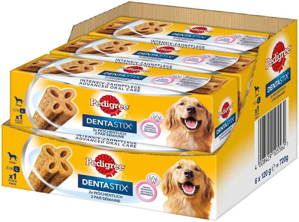 Pedigree DentaStix 2X Wöchentlich Hundeleckerli für Große Hunde ...