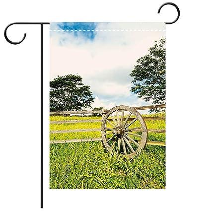 Amazon.com: Bandera de jardín personalizada, bandera para el ...