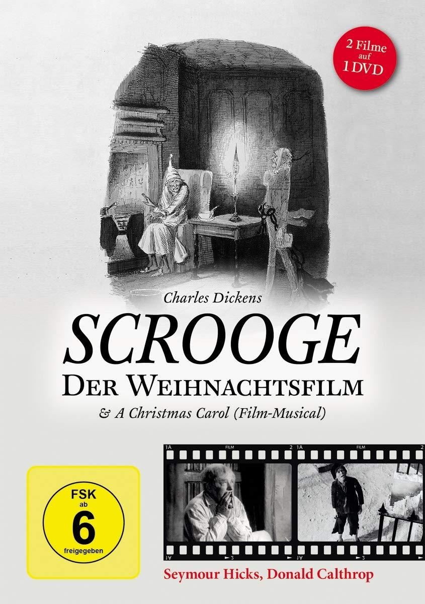 Scrooge - Der Weihnachtsfilm & A Christmas Carol 2 Filme: Amazon.de ...
