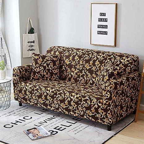 WXZhome - Funda elástica para sofá de 1/2/3/4, Fundas ...