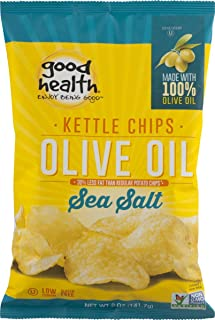 product image for Good Health Olive Oil Kettle Style Chips with Sea Salt 5 oz. Bag (3 Bags)