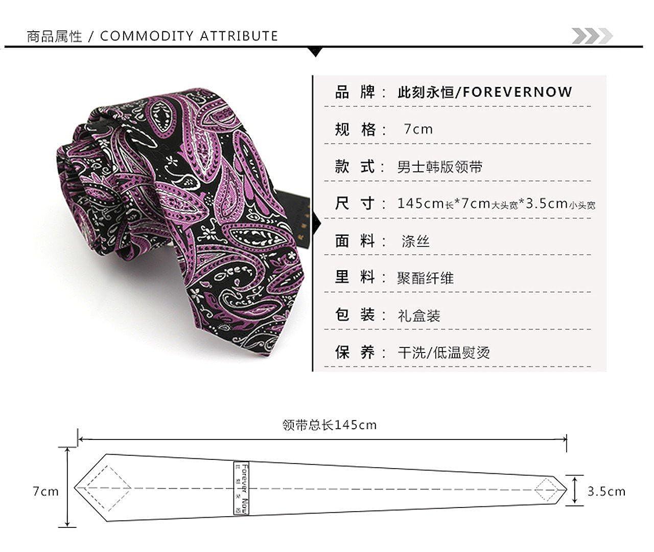 HXCMAN 7cm black purple flower floral 100/% silk classic design men tie necktie all-match party business evening wedding groom in gift box