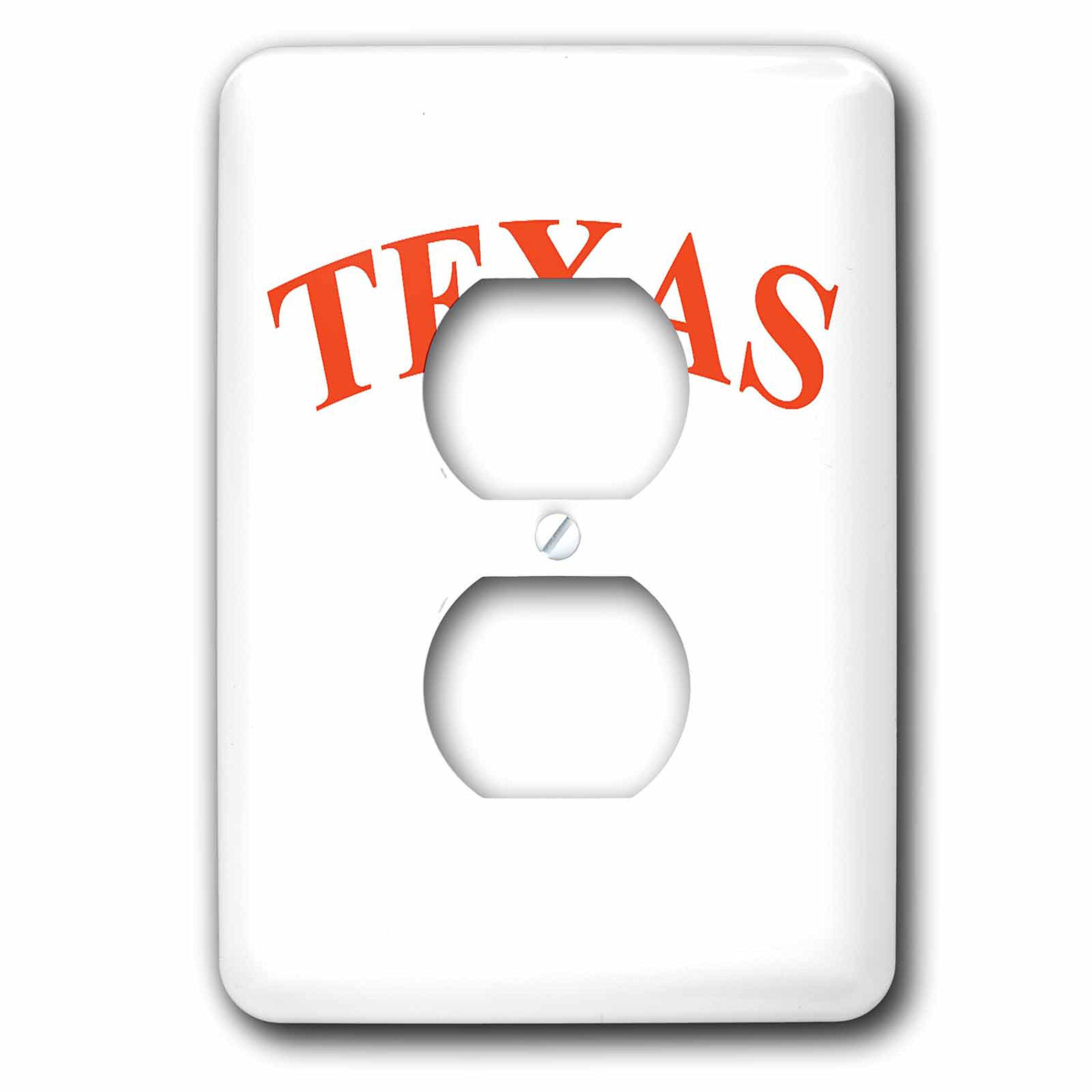 3dRose LLC lsp_3085_6 Texas Longhorn, 2-Plug Outlet Cover