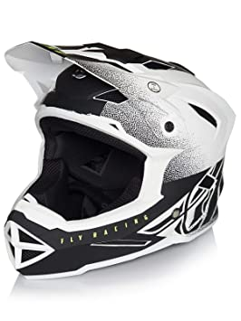 Fly Racing Casco Integral MTB 2019 Default Matte Blanco-Negro (XL, Blanco)