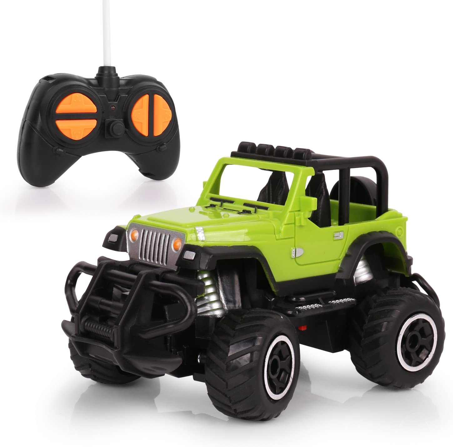 HALOFUN Remote Control Car, Mini RC Cars for Kids, Jeep Vehicle Sport Racing Hobby 1:43 Scale for Boys Girls