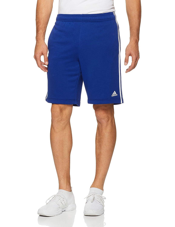 TALLA 3XLT. adidas ESS 3S Short FT - Pantalón Corto, Hombre, Azul(TINMIS/Blanco)