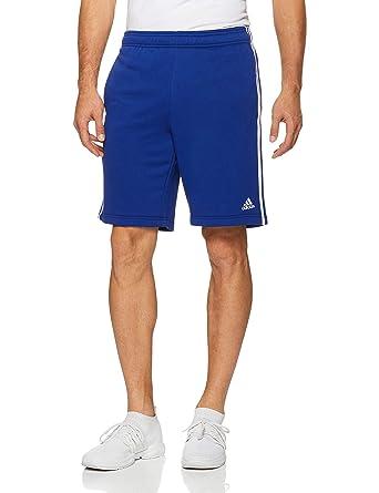 la mejor actitud 39de9 9766b adidas ESS 3S Short FT - Pantalón Corto, Hombre, Azul(TINMIS/Blanco)