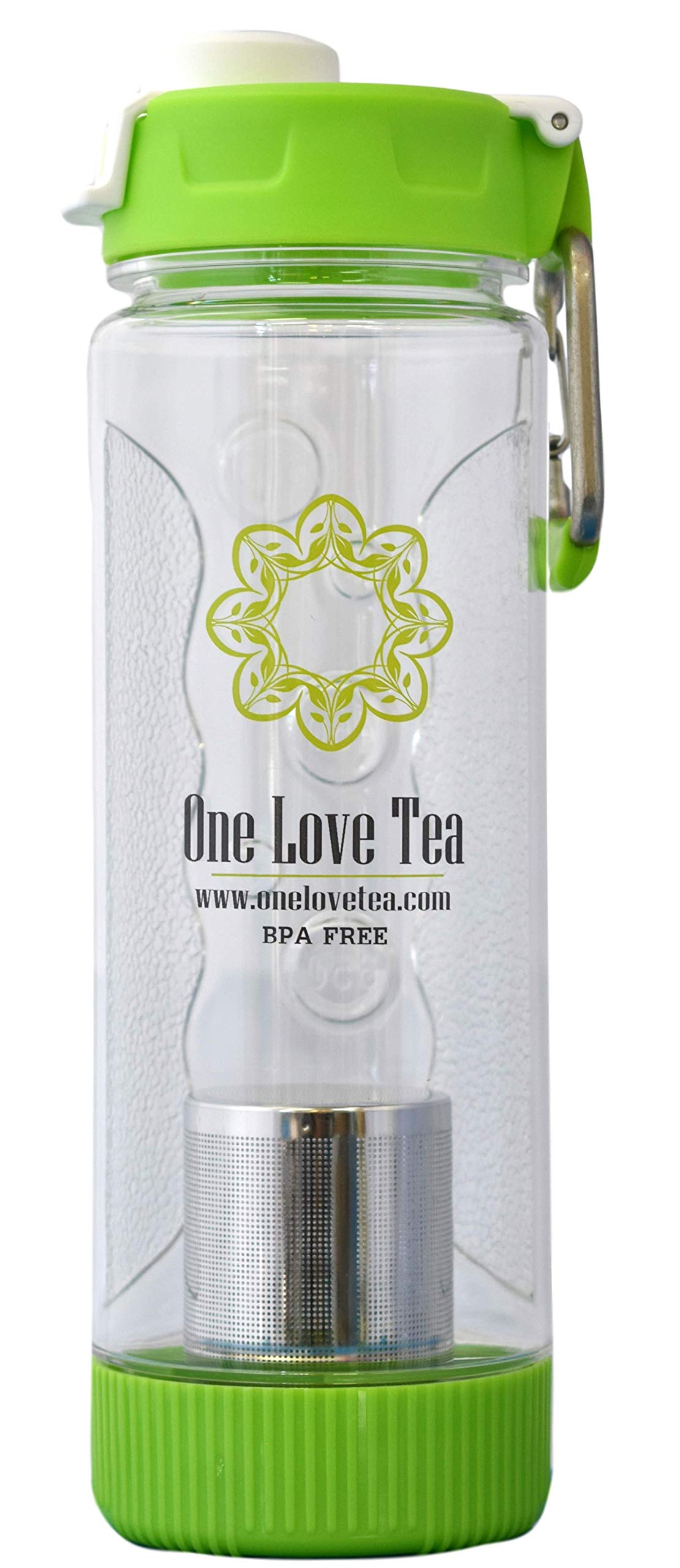 One Love Cold Brew Tea Infuser Bottle by One Love Tea