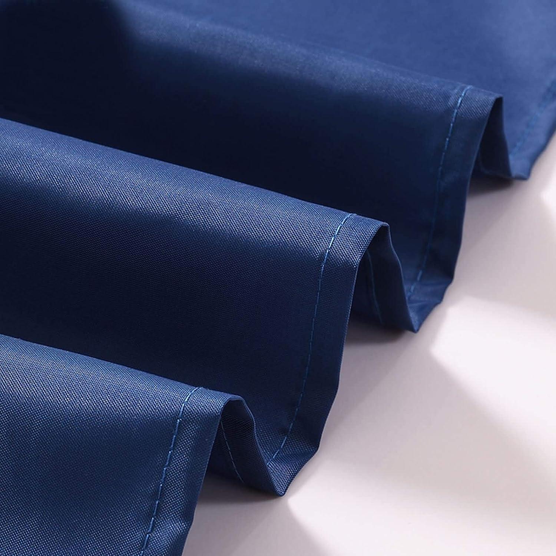 Daesar Antimoho Cortina de Ducha 100x180 Azul 3D Cortina de Ducha Vintage Cortinas de Ba/ño Poli/éster