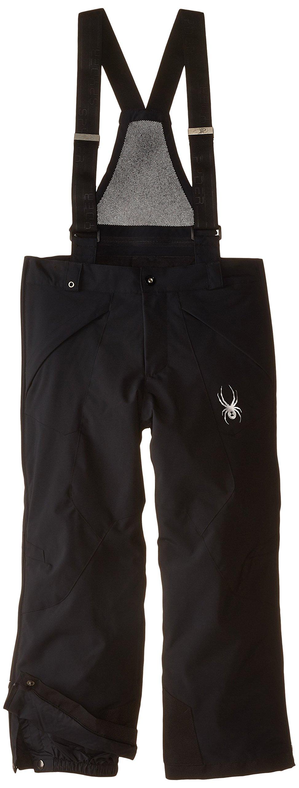 Spyder Boys Force Plus Pant, 12, Black by Spyder