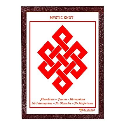 Buy Ratnatraya Feng Shui Mystic Knot Symbol For Happiness And Life