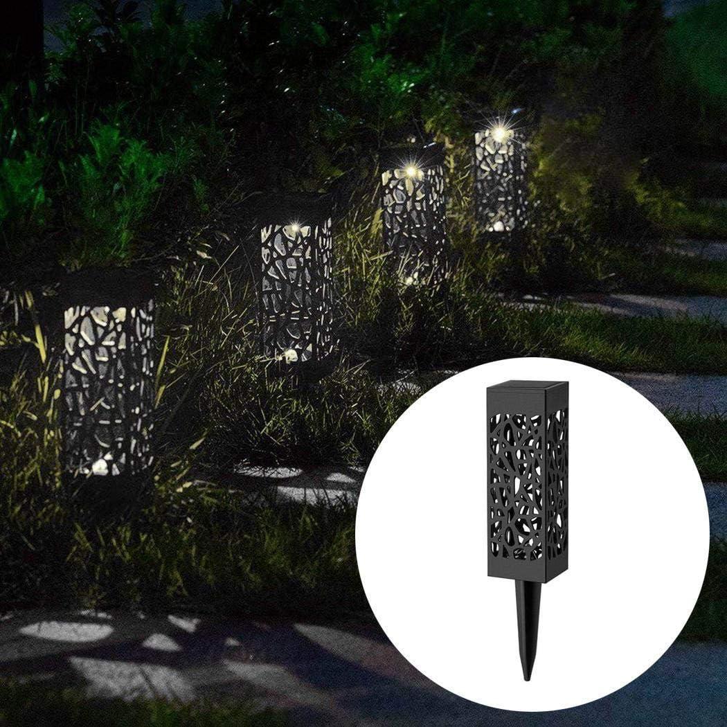 Fantiff Lampada da giardino portatile impermeabile a LED a luce solare da giardino Luci per sentieri