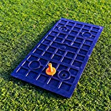 FORB-Launch-Pad-Golf-Practice-Mat-2-in-1-FairwayRough-24in-x-12in-Mini-Golf-Mat-Combining-Realistic-Fairway-Semi-Rough-Lies-Net-World-Sports