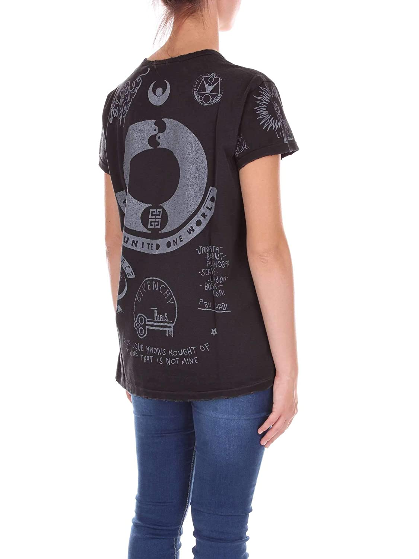 Givenchy BW702V30313 Camiseta Mujer Negro L: Amazon.es: Ropa y accesorios