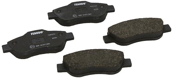 1 opinioni per Ferodo FDB1652- Premier Kit Pastiglie Freno, Freno A Disco- (confezione 4 pezzi)