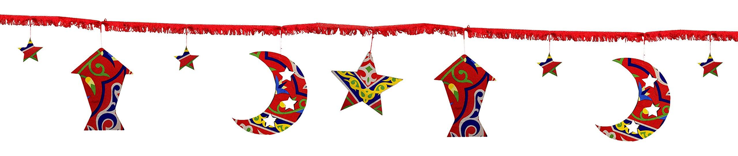 Memories Maker R2D005 Ramadan Decoration Rope, Red