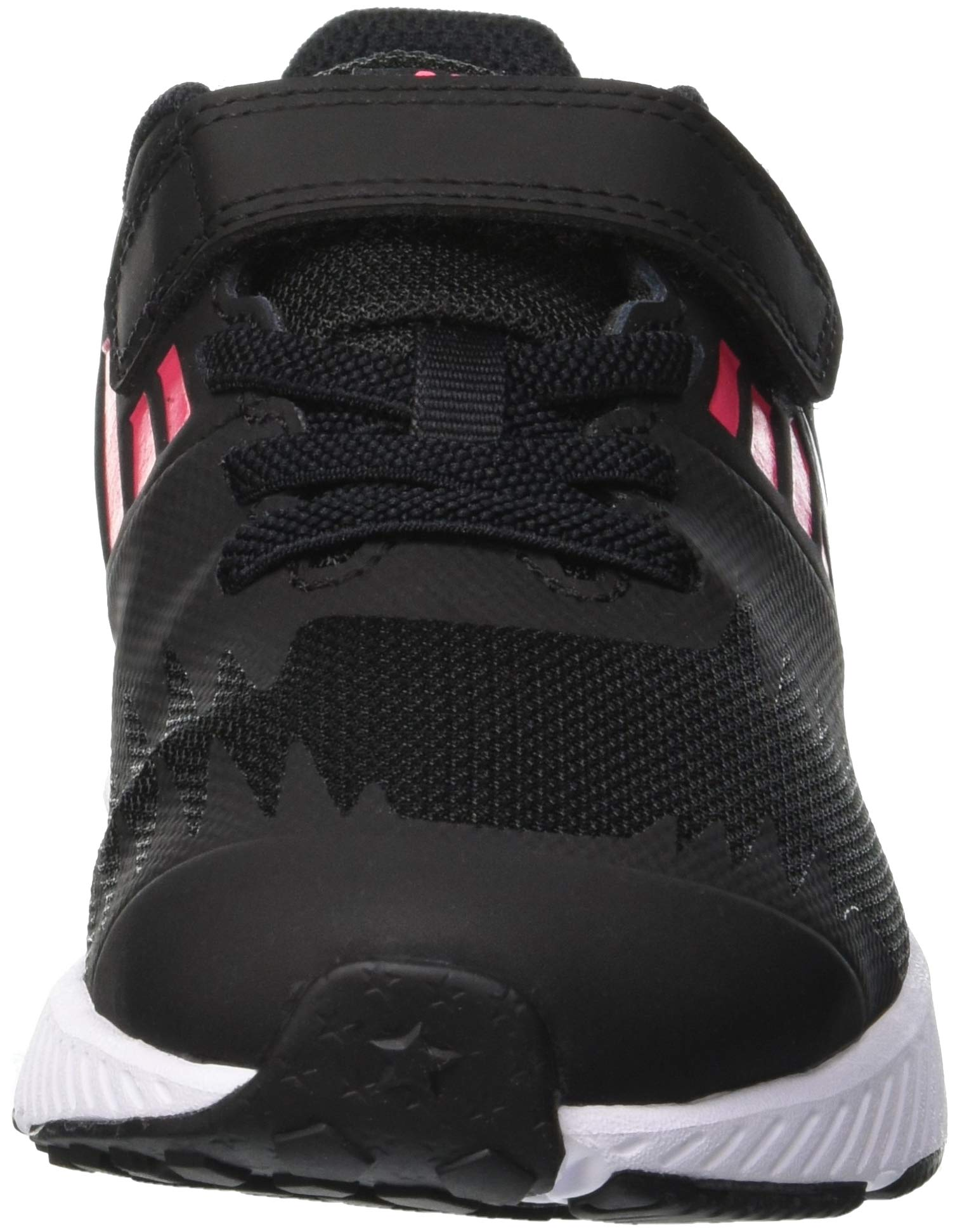 Nike Girl's Star Runner (PSV) Pre-School Shoe Black/Metallic Silver/Racer Pink/Volt Size 1.5 M US by Nike (Image #4)