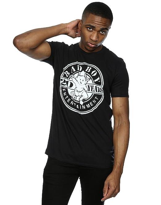 Bad Boy Records hombre Circle Logo Camiseta  Amazon.es  Ropa y accesorios ae3479e1fd6df