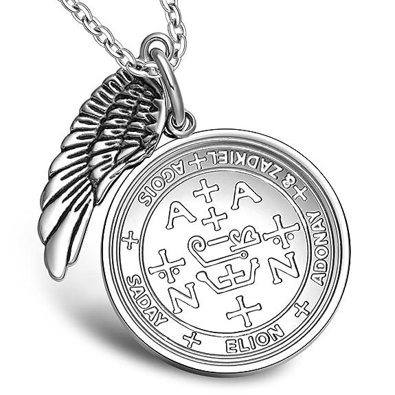 Amazon Archangel Zadkiel Sigil Amulet Magic Powers Angel Wing