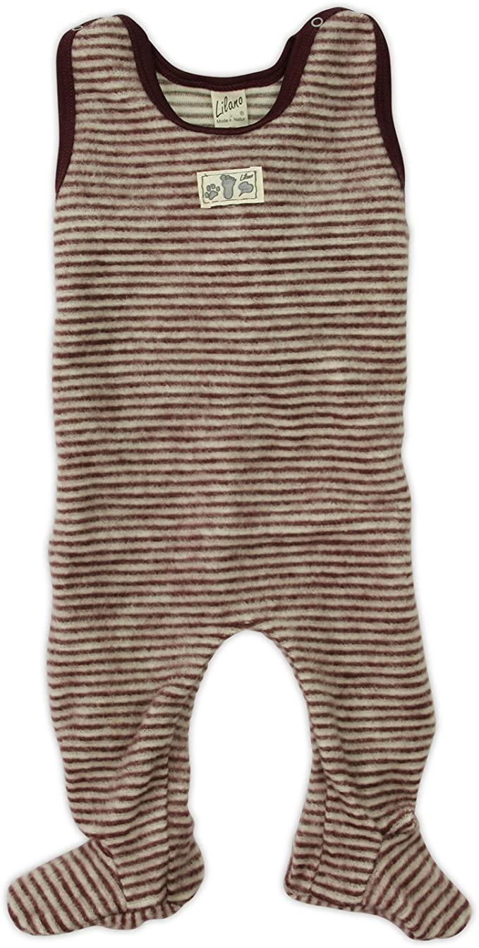 Kinder//Baby Overall Ohne Fu/ß kbT 100/% Wolle Lilano
