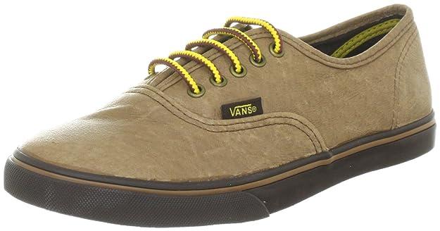 Vans Damen Authentic LO PRO Sneakers, Schwarz, 36.5 EU