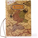 Schoolsupply 1pcs World map passport holder, ID card passport package, travel abroad