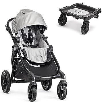 Amazon Com Baby Jogger City Select Black Frame Stroller W Glider