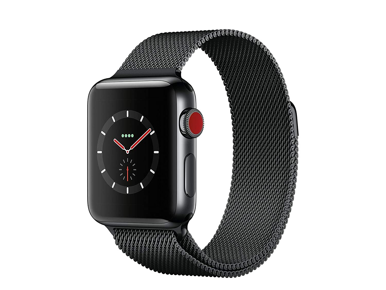 Apple Watch Series 3 Reloj Inteligente Negro OLED Móvil GPS ...