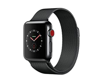 Apple Watch Series 3 Reloj Inteligente Negro OLED Móvil GPS (satélite): Amazon.es: Electrónica