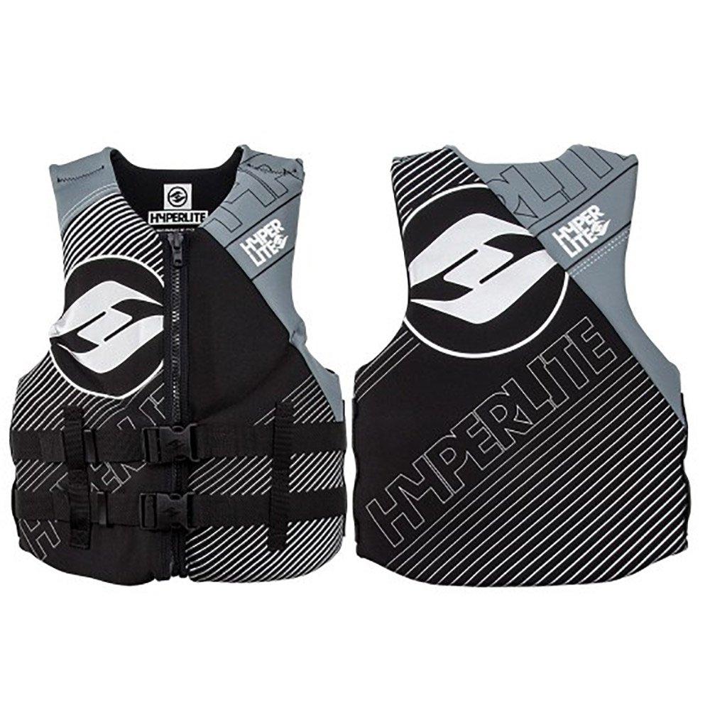 安いそれに目立つ (Medium, Grey) - Hyperlite Indy Neoprene Life Indy Vest (Medium, Hyperlite Mens B0064G0G6M, めん工房 辻麺業:c8f6752d --- a0267596.xsph.ru