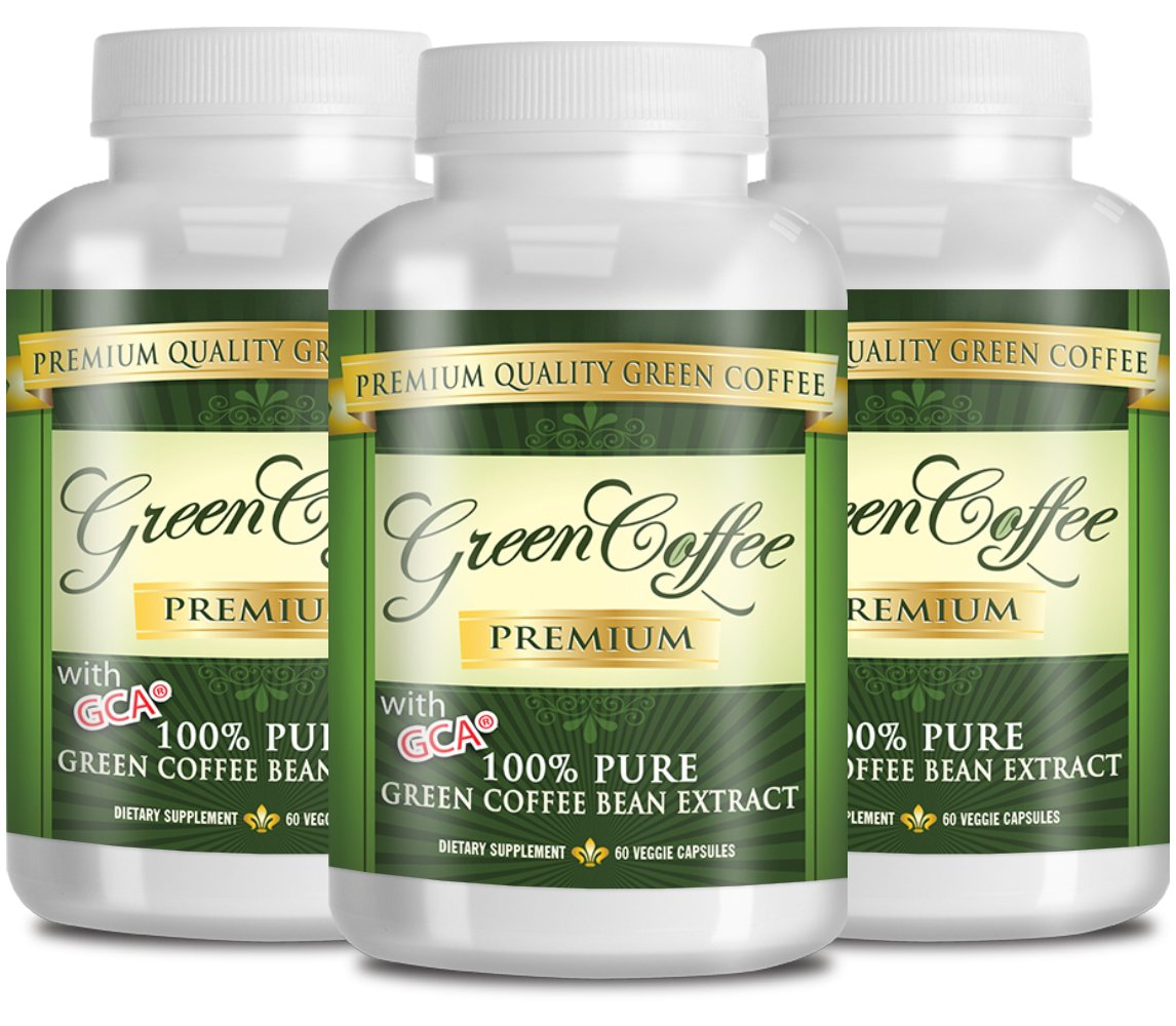 Green Coffee Bean Extract 100% PURE - 50% Chlorogenic Acid - 60 Capsules - Quick Fat Burner by Green Coffee Premium (Image #5)