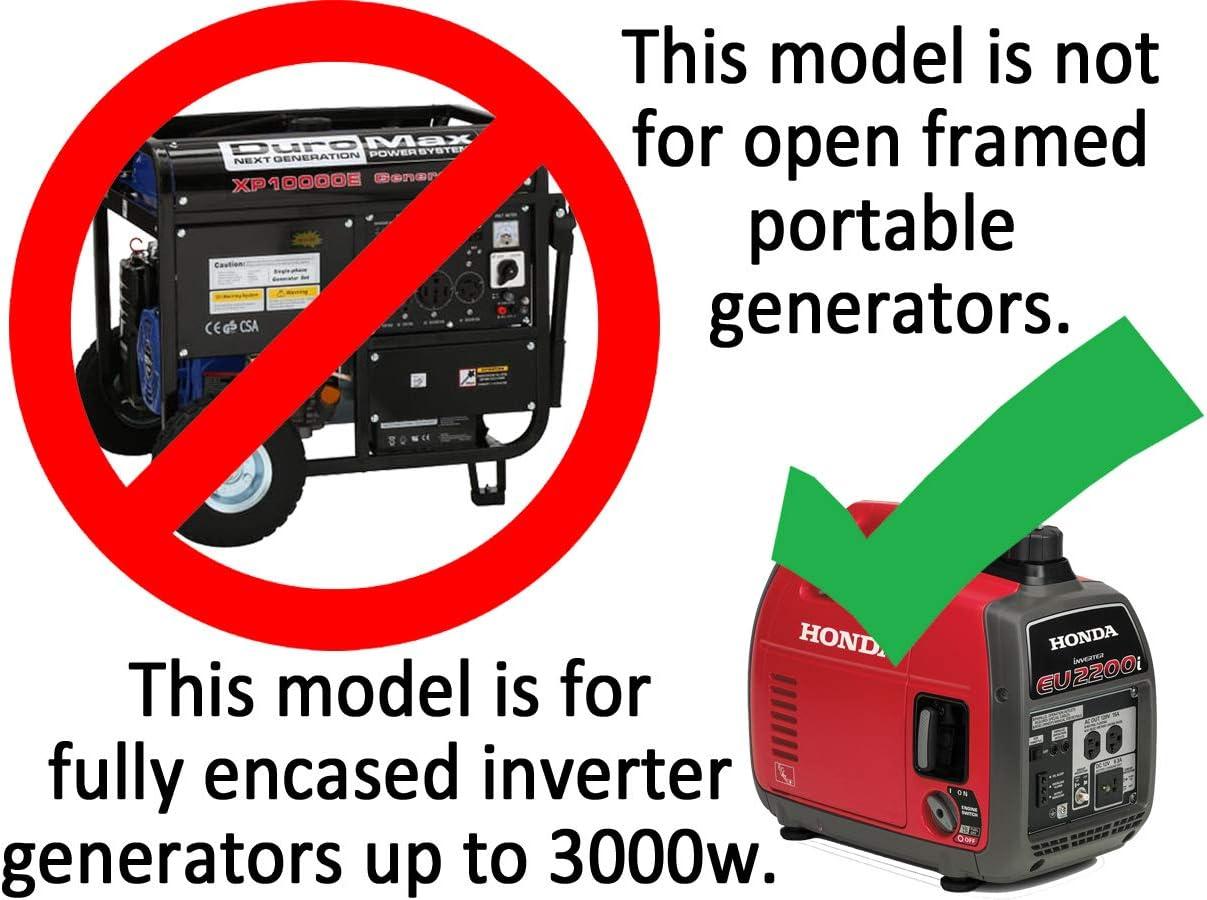 XKI Kit 1000w-3000w Inverter Generators GenTent 10K Running Cover Extreme, TanLight