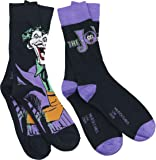 Batman Joker - Logo Socks black-lilac