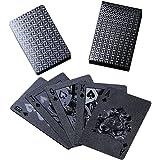 Bestmaple かっこいいトランプ ストレス解消 プラスチック 遊び ポーカー マジック 大富豪 手品 豪華 高級 パーティー テーブル ゲーム
