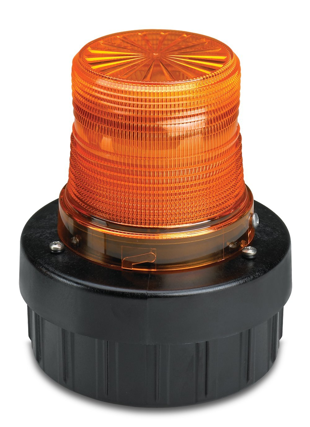 Federal Signal AV1-LED-024A LED Flashing Combination Audible/Visual Signal, Pipe/Surface Mount, 24 VDC, Amber