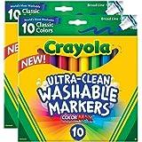 Crayola Ultraclean Broadline Classic Washable...