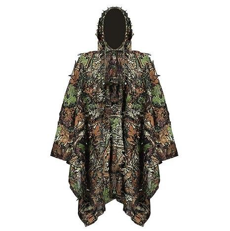 0e7611c9412b8 Amazon.com : MostaShow Forest Design Leaf Camouflage Woodland Camo ...